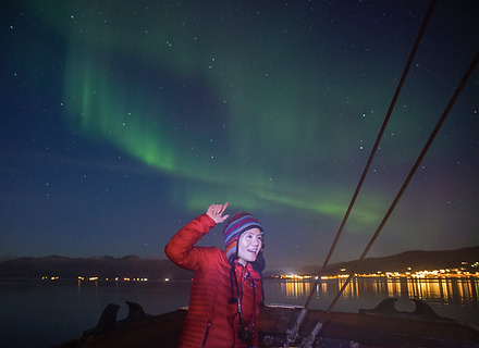 Northern Lights - S/Y Stella Oceana - World Sea Explorers
