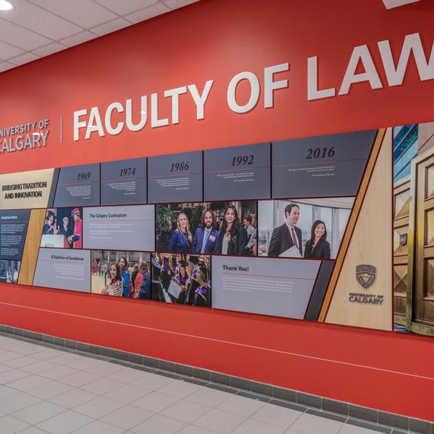 University of Calgary Donar Wall