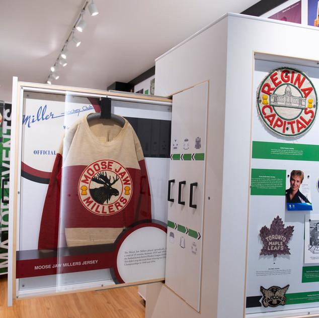 Saskatchewan Sports Hall of Fame – Travelling Exhibition