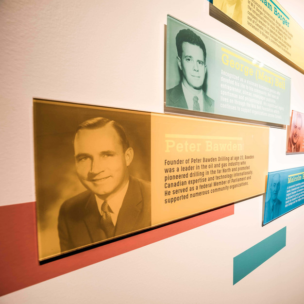 Calgary Foundation Founder & Donor Wall