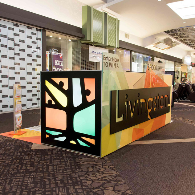 Livignston Sales Kiosk