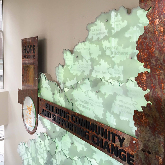 The Mustard Seed - Donor Wall