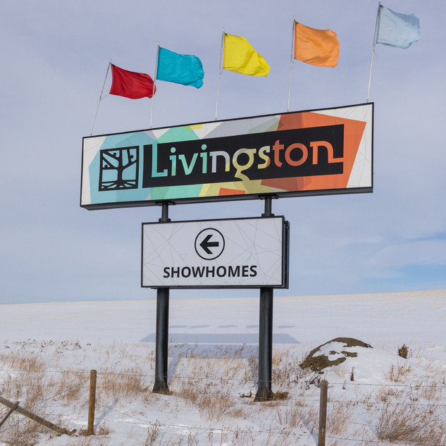Brookfield Communities - Livingston Entry Monuments