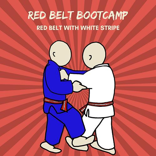 Red Belt Bootcamp - Red & White Stripe