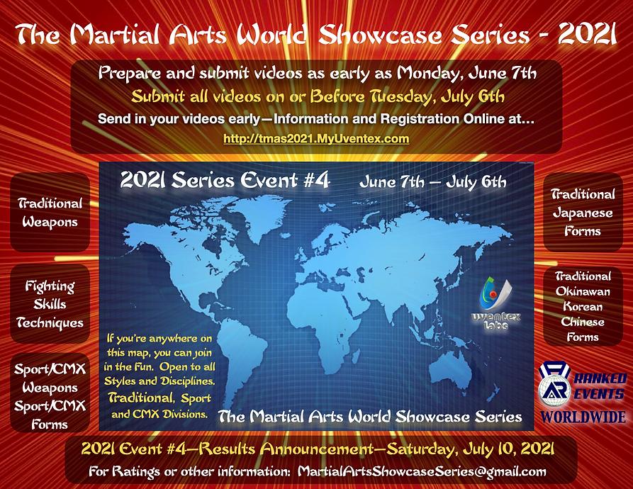 Martial Arts Showcase - Cover 2021 Event