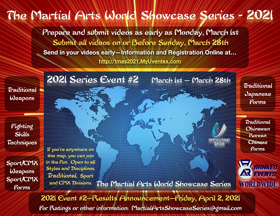 Martial Arts Showcase - Cover 2021 Event