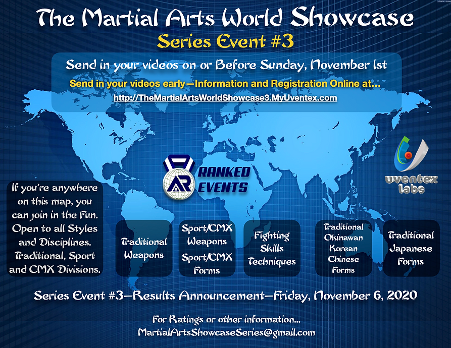 Martial Arts Showcase - Cover Event #3.p