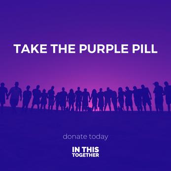 Take the purple pill