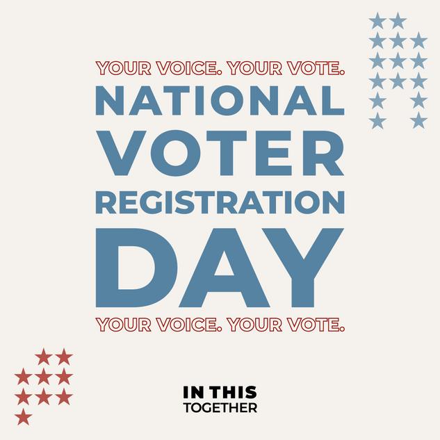 National Voter Registration