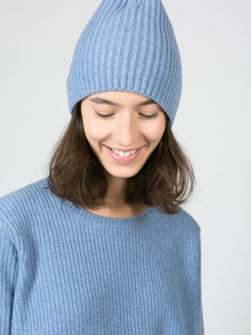 Cashmere Sweater Blau Amorph