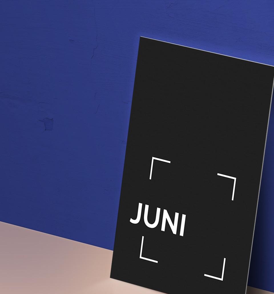 JUNI Visitenkarte