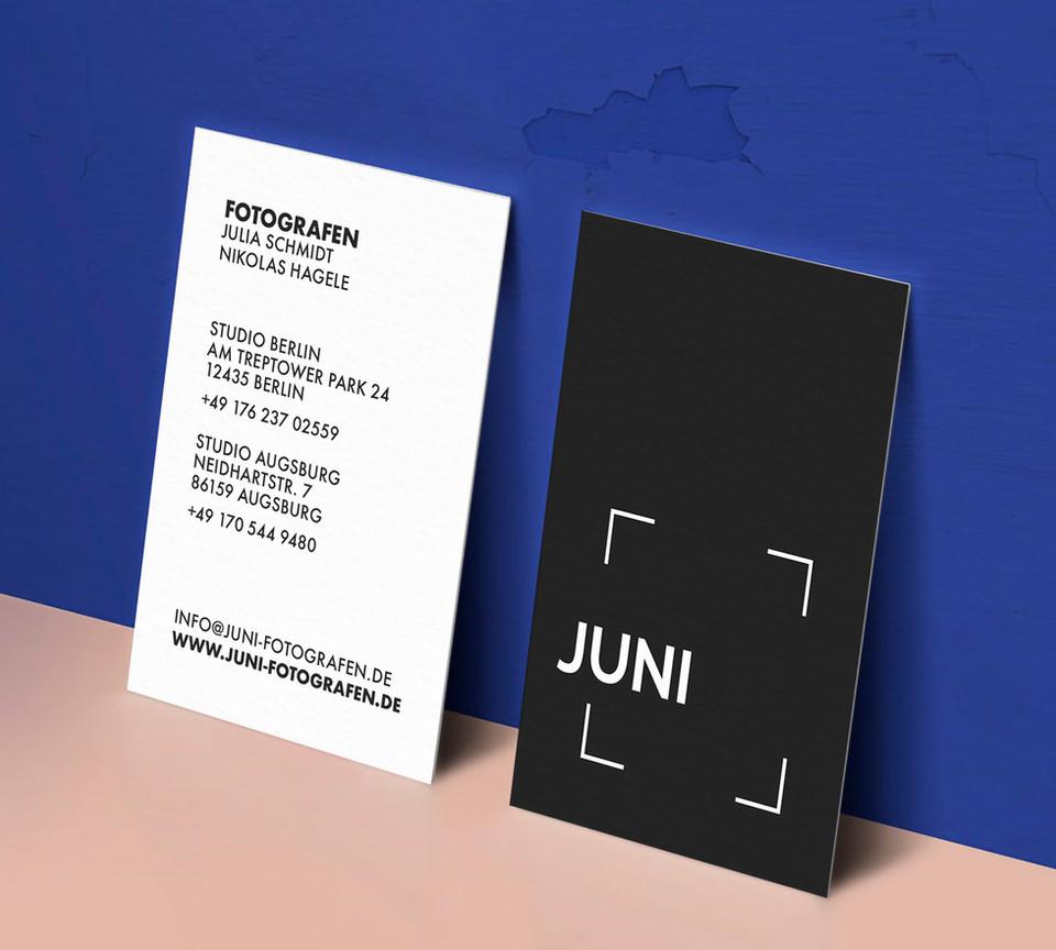 JUNI Visitenkart