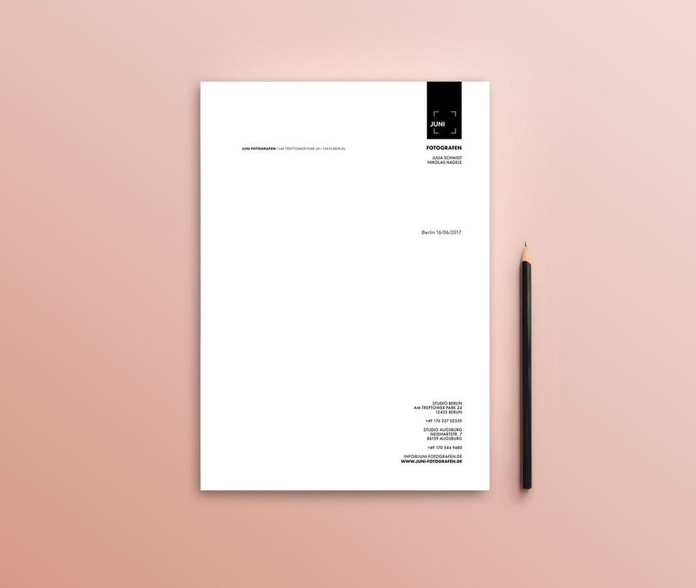 JUNI Briefpapier