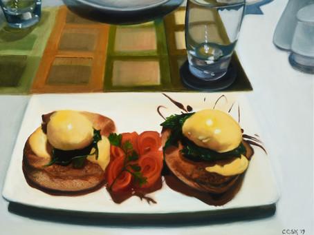 Eggs Benedict New Zealand Style