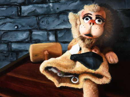 Lonely Monkey Puppet