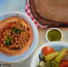 Vegan Feast With Pita