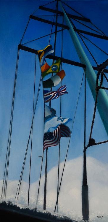 Sea Flags in Annapolis