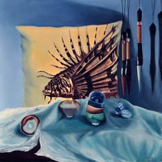 Lionfish Pillow