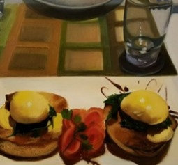 Eggs Benedict New Zealand Style