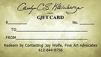 Gift Card Back
