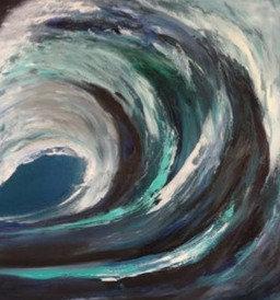 Crashing Wave I