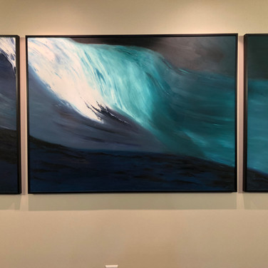 Roiling Sea Triptych