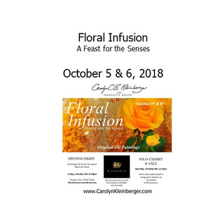 Floral Infusion - A Feast for the Senses