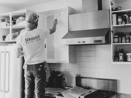 How To Paint Kitchen Cabinets in 2021: Four Essential Steps