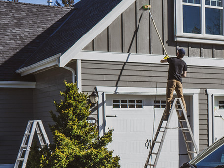 Exterior Cleaning: Essential Preparation for Exterior Painting.