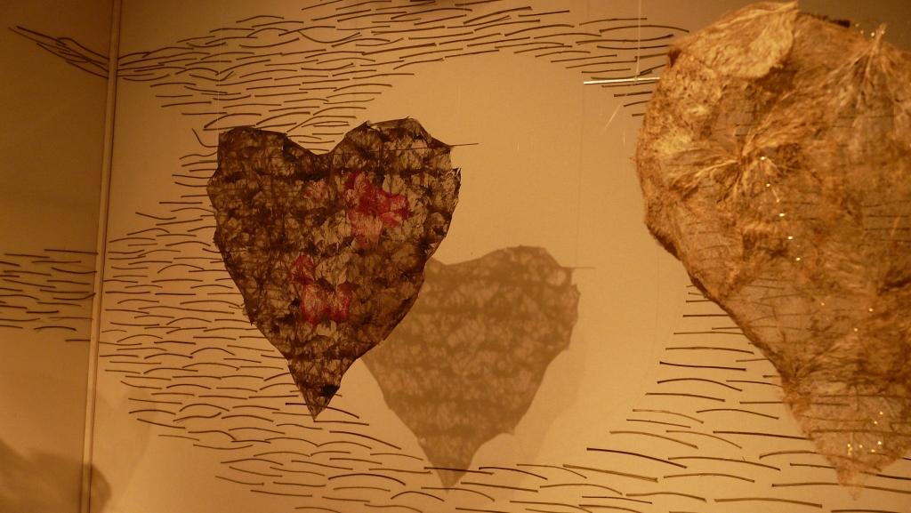 cœurs cousus d'espoir détail
