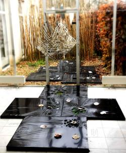 Jardin de mémoire /passer le mur