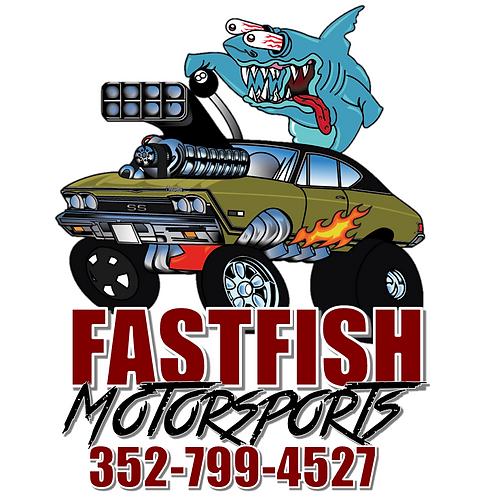 New Fastfish Motorsports Sticker