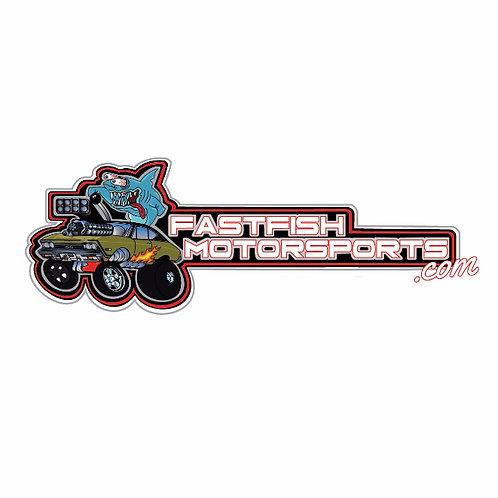Fastfish Motorsports Sticker