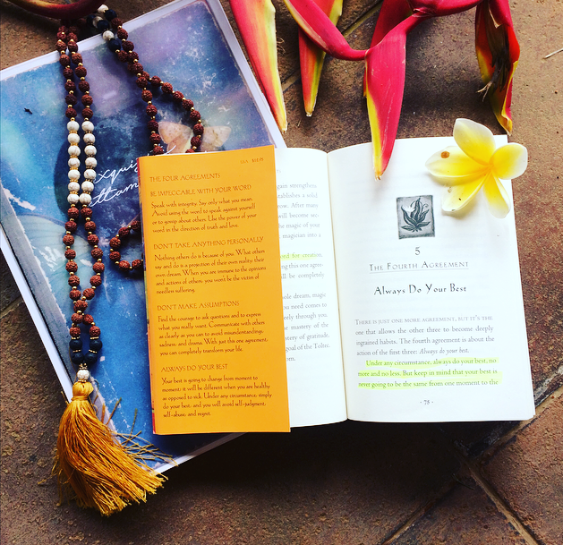 Review The Four Agreements A Toltec Wisdom Book By Don Miguel