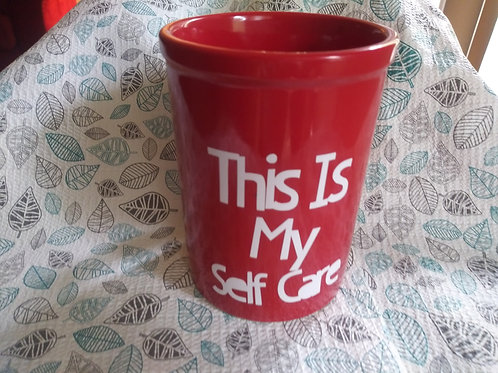 """This Is My Self Care"" Mug"