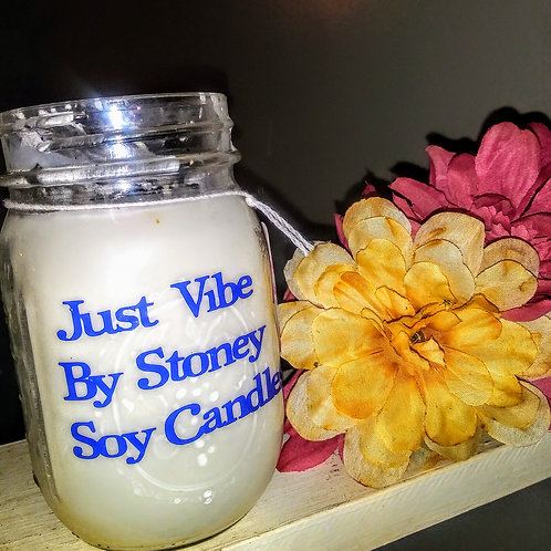 Just Vibe Double Wick Candles