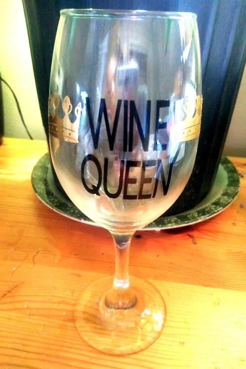 Wine Queen Glass