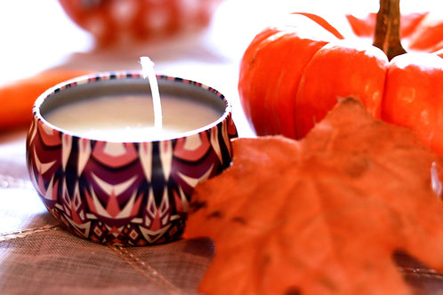 Autumn Scented Tin Candles