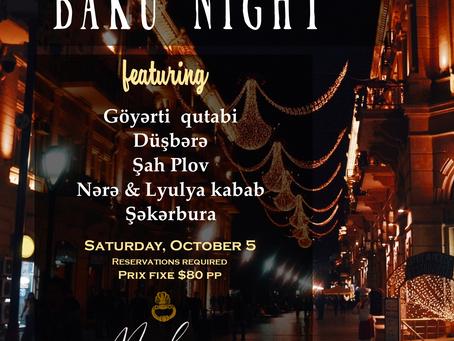 Baku Night