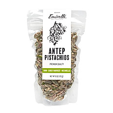 Antep Pistachios - Roasted and Salted, No Shells 6 OZ