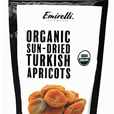 Organic Sun-dried Turkish Apricots 7.05 OZ