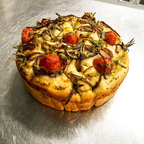 Tomato and Goats Cheese Tart Special