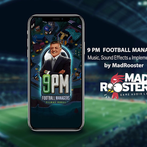 9PM FOOTBALL MANAGERS OST - Rock Theme