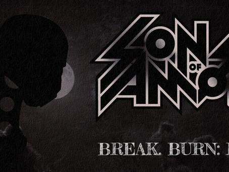 """Sons of Amon's Single """"Break. Burn. Run"""" is Out!"""