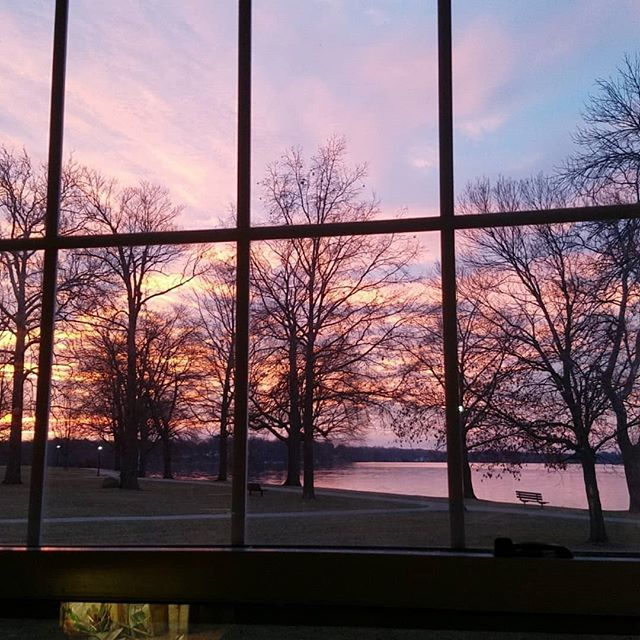 Sunrise Behind Bars