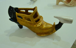 SOLD - Princess Leia's Shoes (Gold)