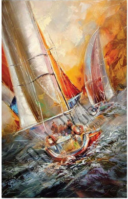 EXCITEMENTS OF THE SAILING RACE