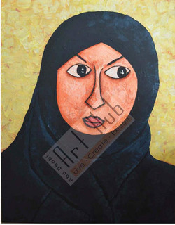 THE LADY IN ABAYA