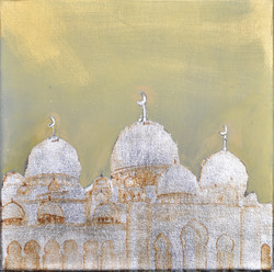 SOLD -WHITE MOSQUE SERIES