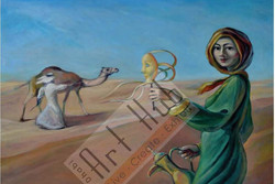 WINDSTORN IN THE DESERT